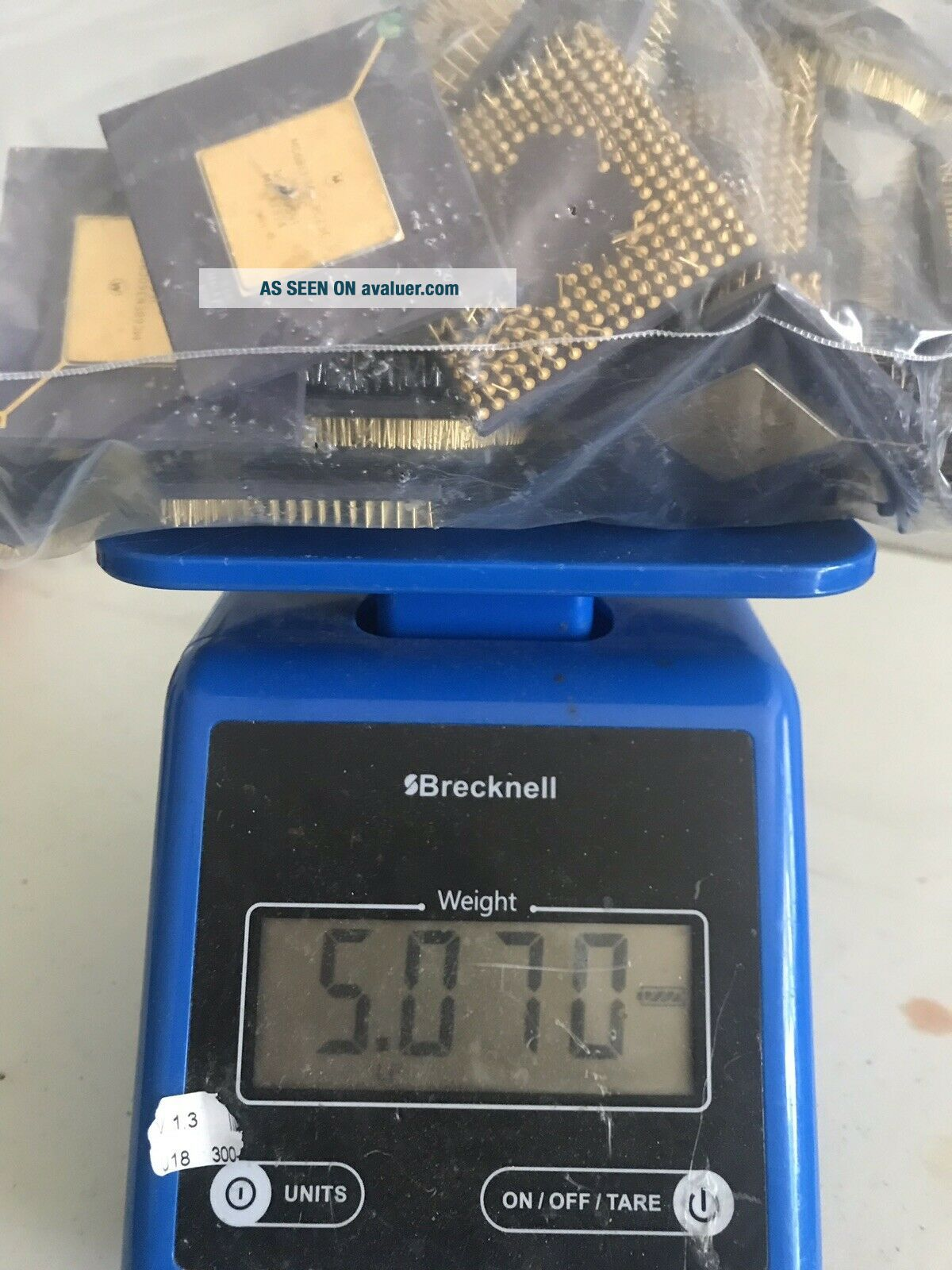 Old Ceramic Cpu's For Gold Recovery