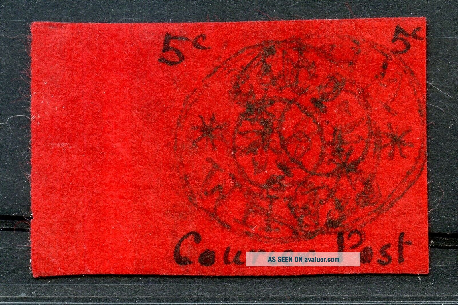 1899 Wei Hai Wei First issue 5ct Chan LWH2a RARE only 392 stamps issued