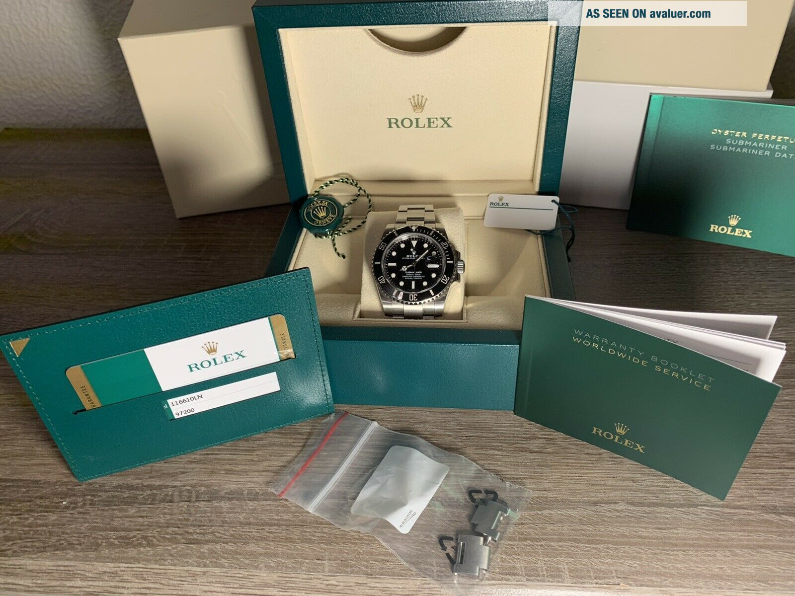 2019 Rolex Submariner 116610LN Black