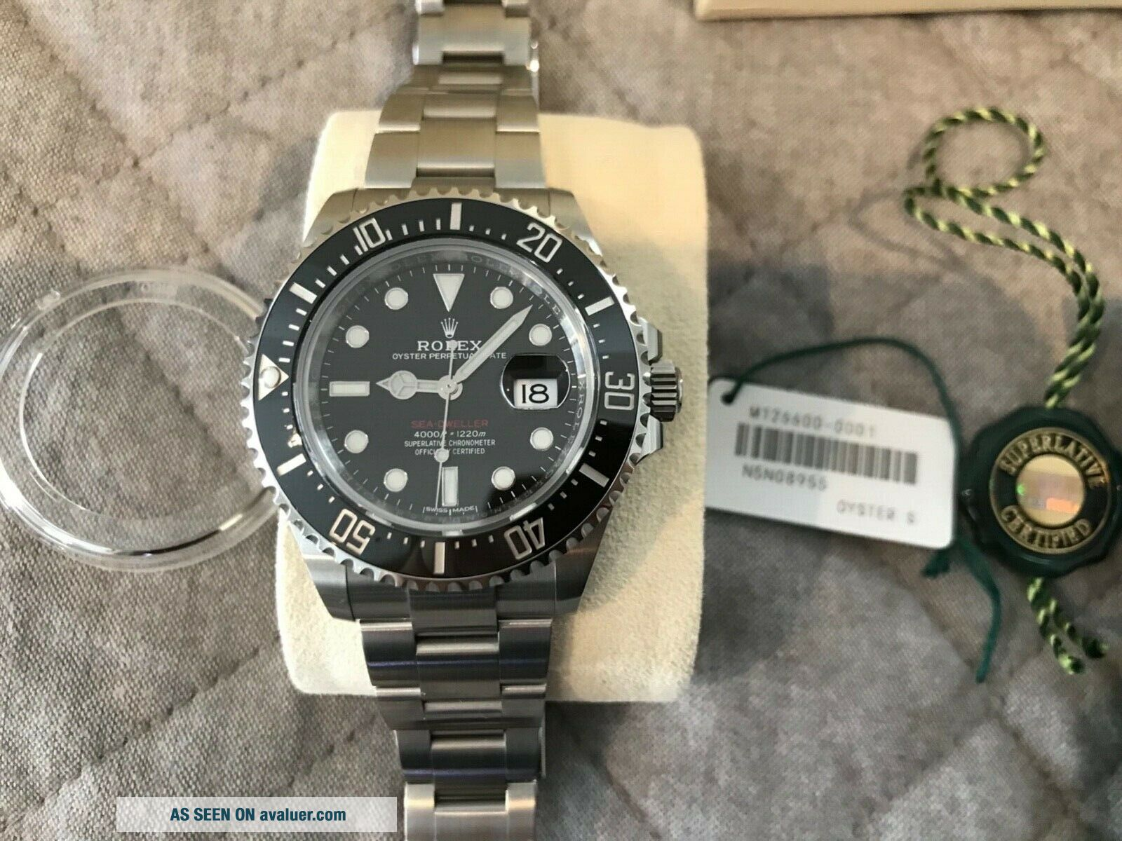 Rolex Sea - Dweller 126600 50th Anniversary Black Steel 43mm Pre - owned