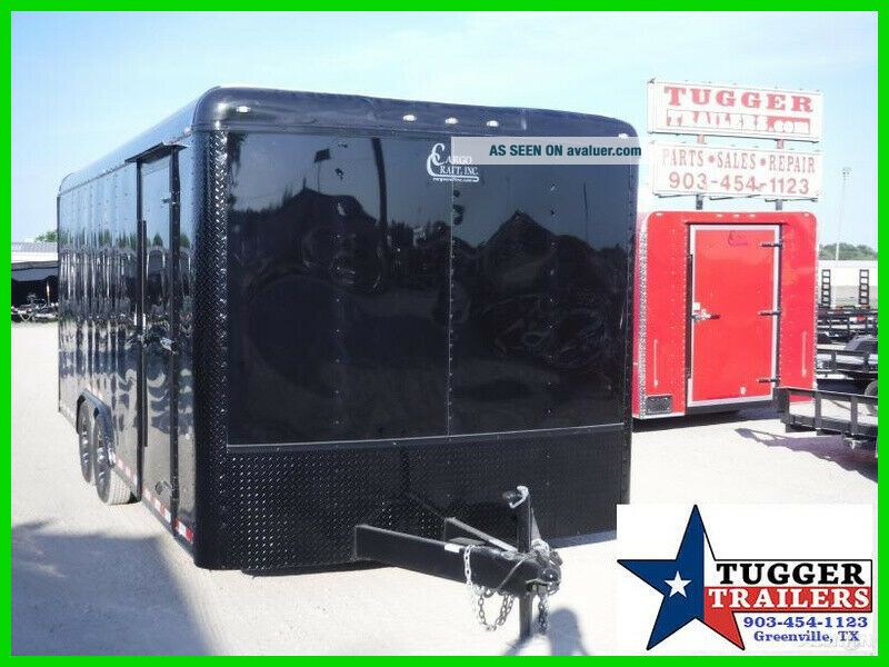 2019 Cargo Craft 8.  5X20 20Ft Blackout Enclosed Cargo Auto Mobile
