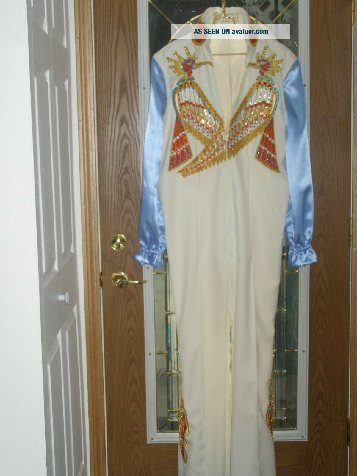 tcb Elvis bicentennial jumpsuit ND BELT